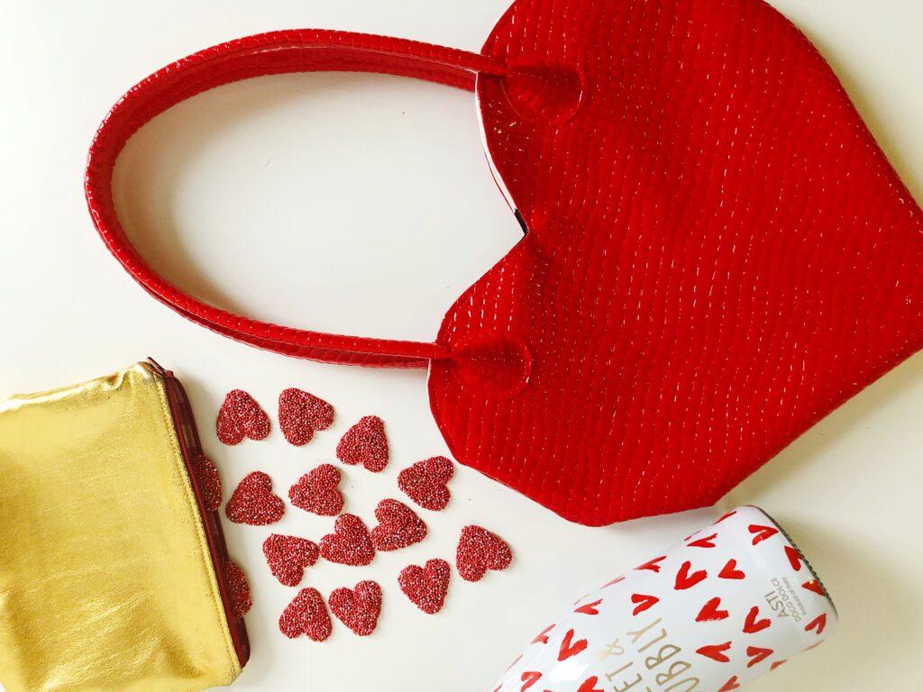 tas hart vorm naaien