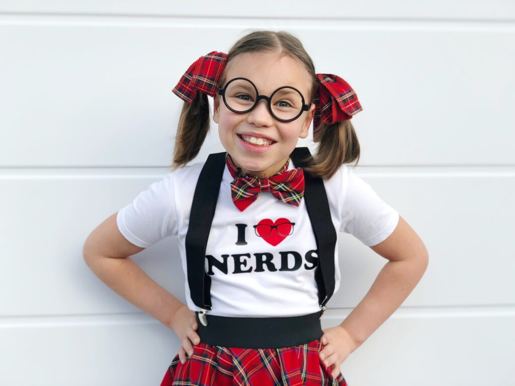 i love nerds carnaval outfit