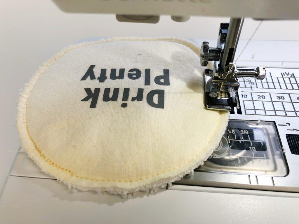 Wasbare zoogcompressen naaien zelf maken