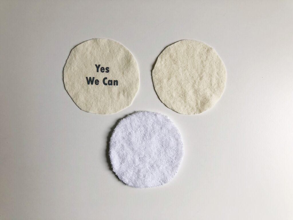 wasbare zoogcompressen naaien maken