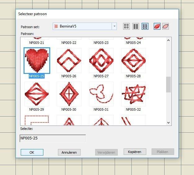Hedendaags 66: Bernina Embroidery Software V8: Borduurpatronen deel 2 LO-15