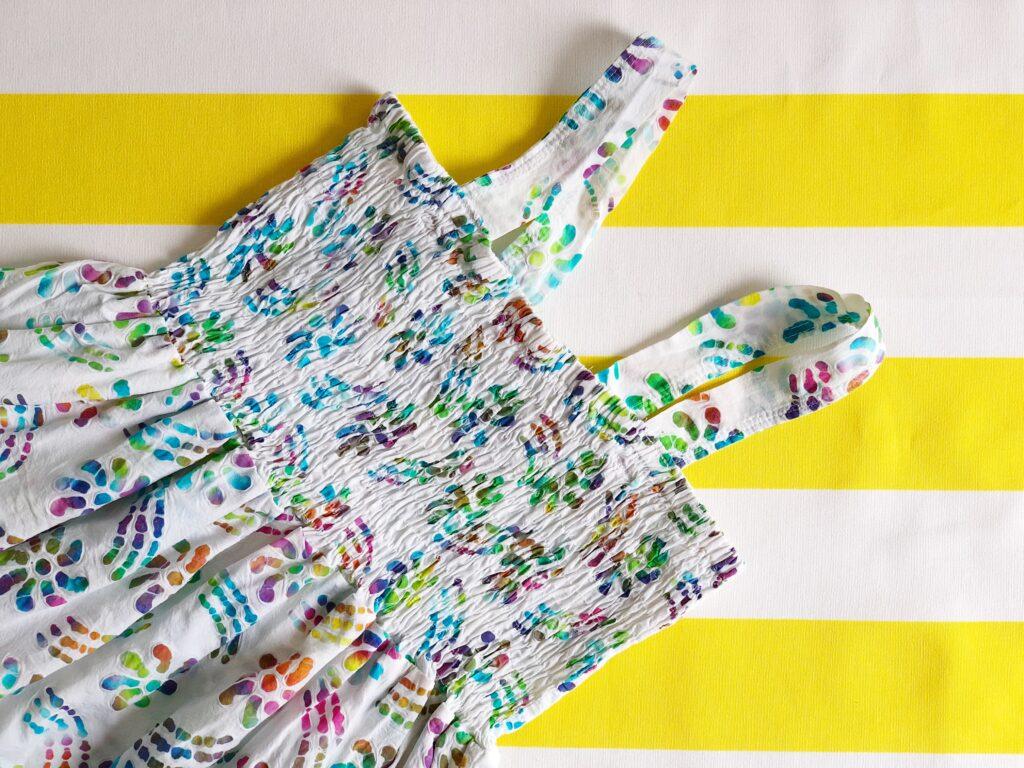 Elastisch garen naaien smocken rimpelen