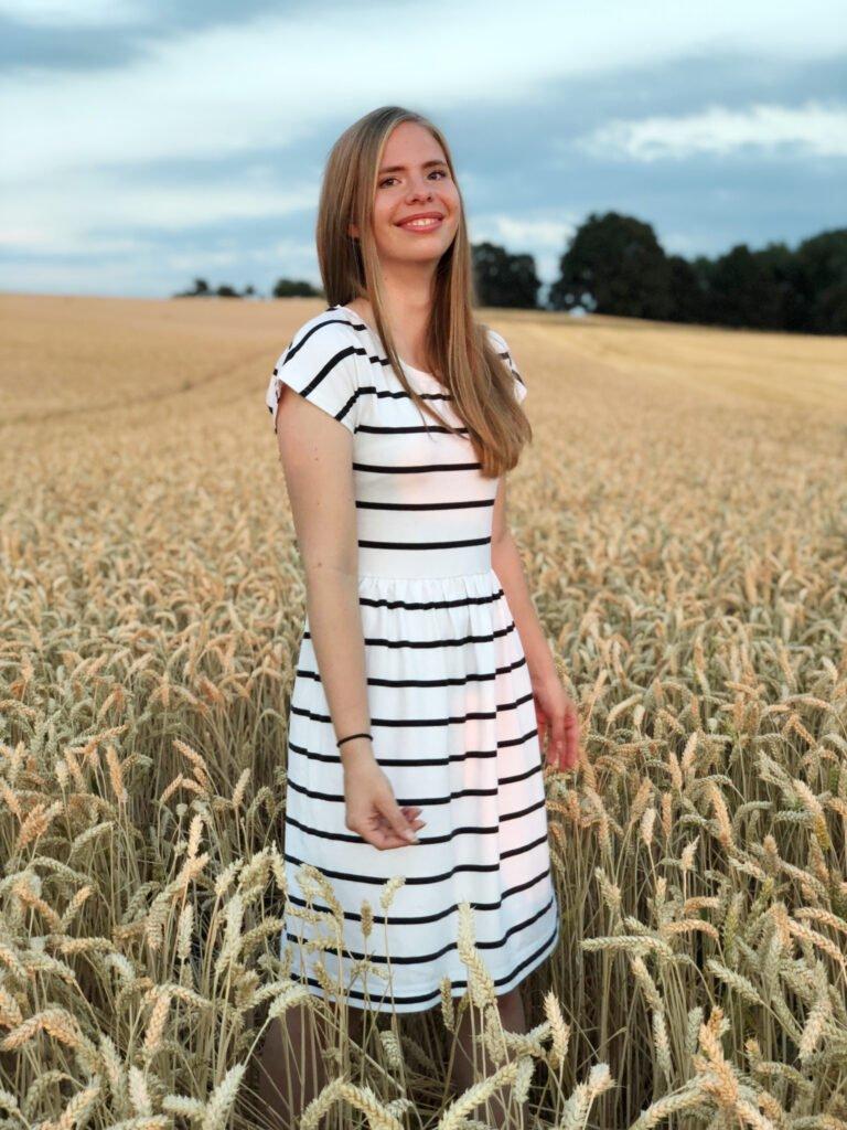gratis naaipatroon zonnige zomerjurk jurk