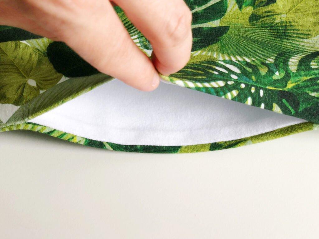 naai zakken in zijnaad zonnige zomerjurk