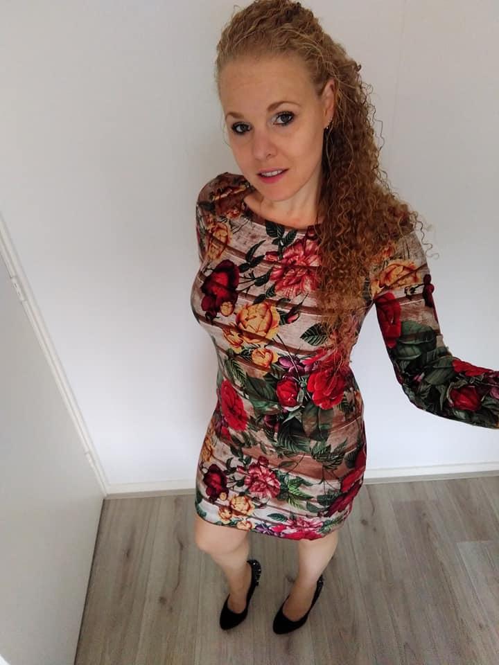 0e617ed232cb0c Zo heb je in een paar uur een prachtige jurk voor de herfst. Heel veel  succes.