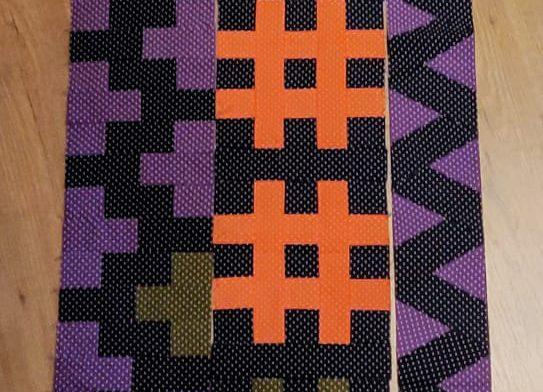 Rij 12; Tetris (2) #SugaridooBerninaQAL 2019_20