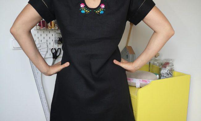 achterkant florence jurk