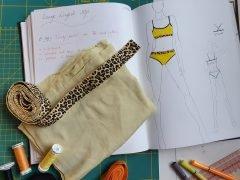 sew-a-long lingerie set