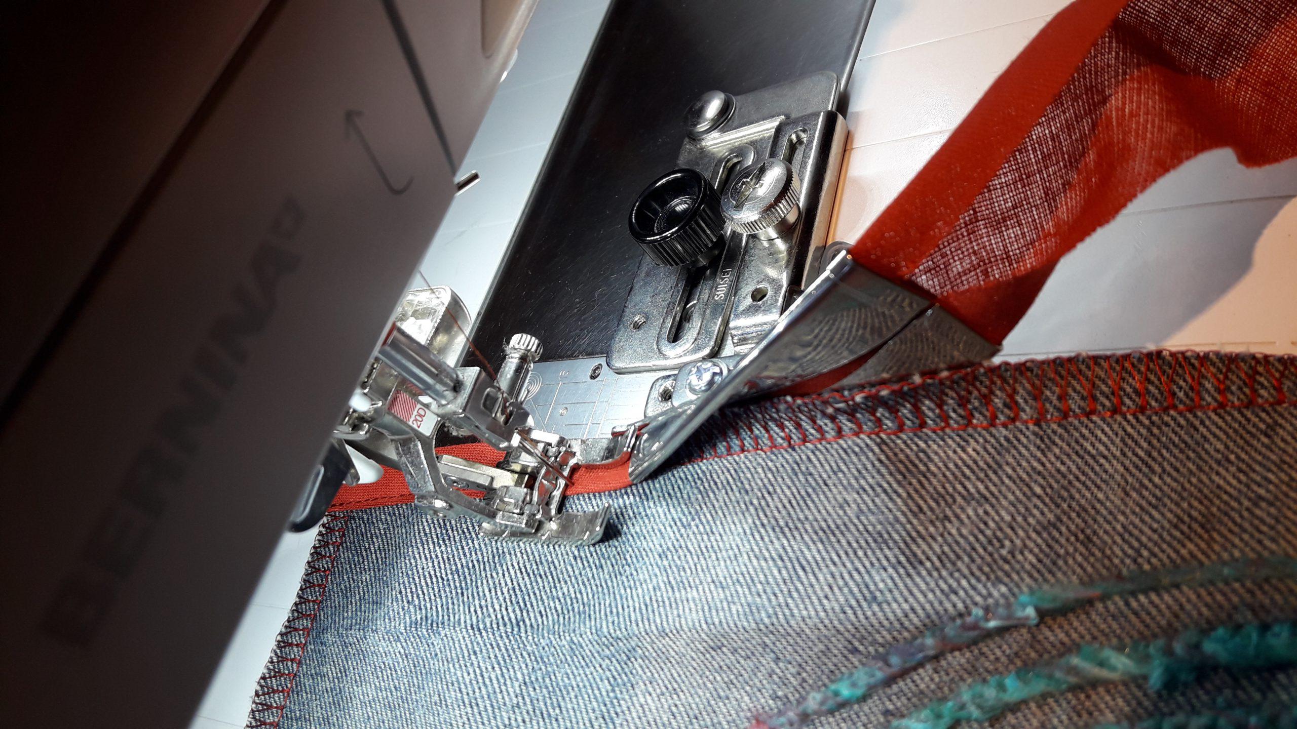 van een jeans naar een tas - redesign