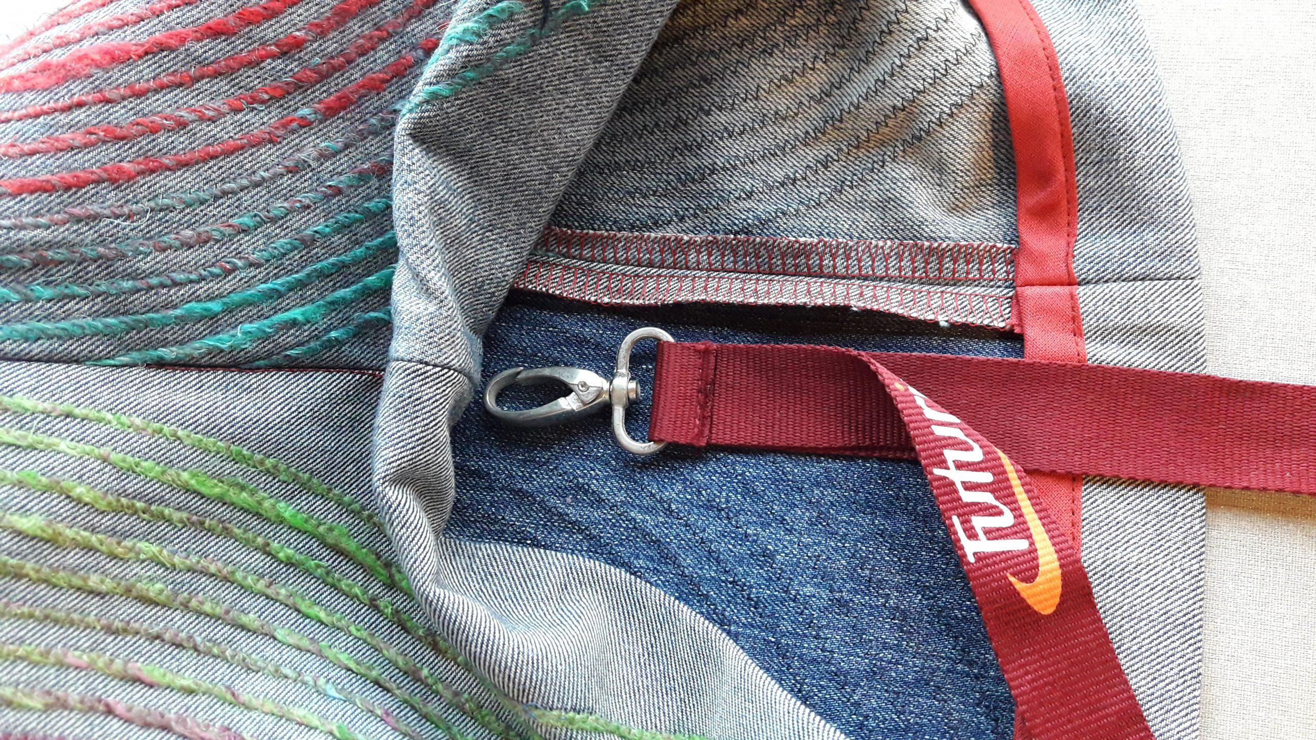 van een jeans naar een tas