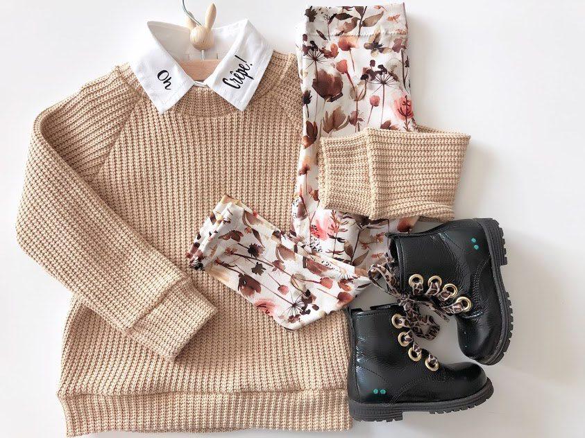 big knit trui raglan