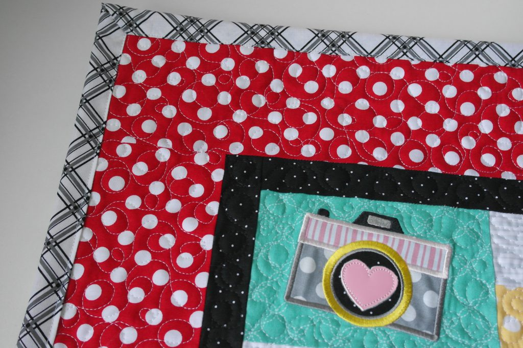 De quilt Love Notes is klaar