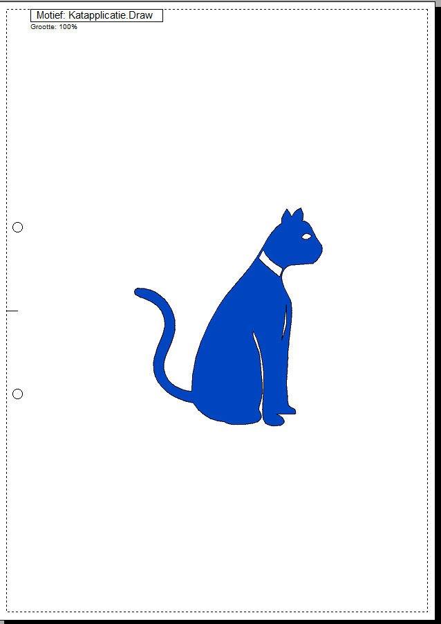 Afbeelding met kat