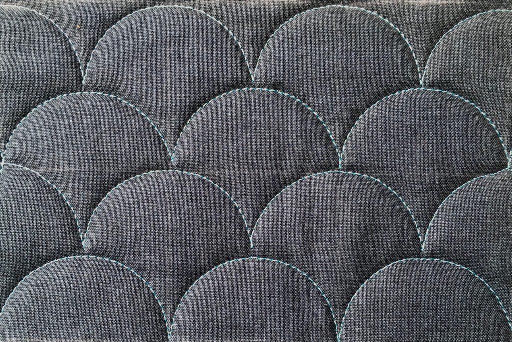 Quilt-along deel 5, eindresultaat clamshells