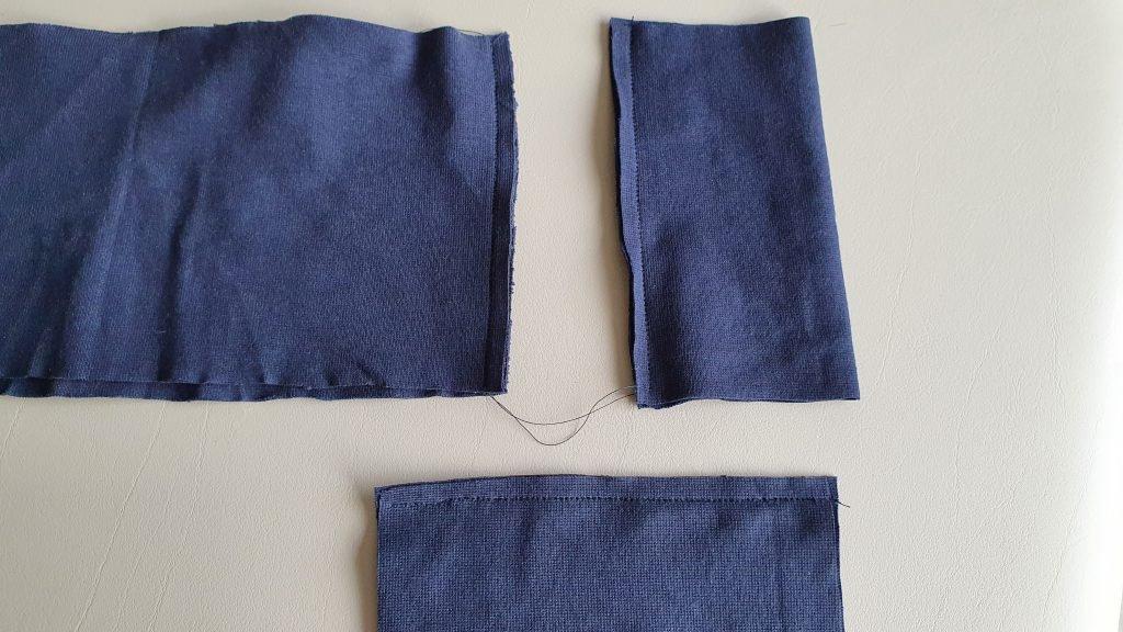 mouwboorden en onderboord naaien