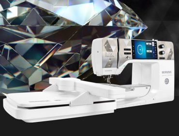 Image of BERNINA 790 PLUS Crystal Edition.