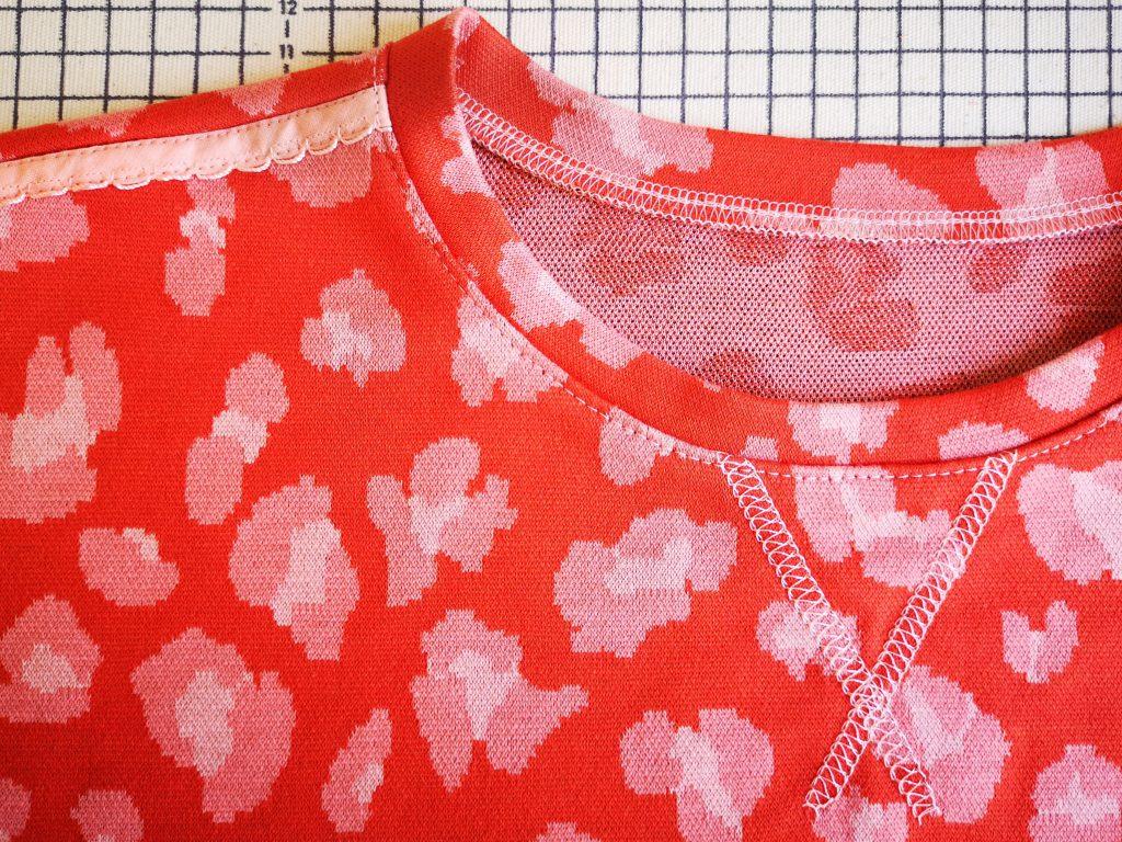 Loungewear naaien - reverse coverstitch