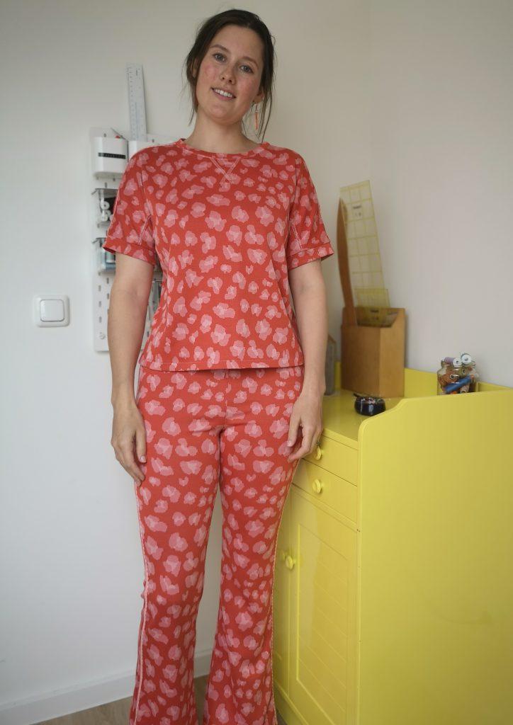 Loungewear naaien - eindresultaat