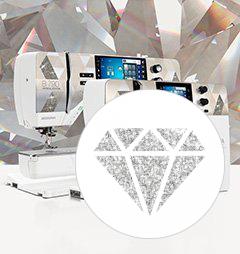 BERNINA 790 PLUS Crystal Edition, BERNINA 590 Crystal Edition