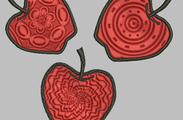 Äpfel Flächenveränderung