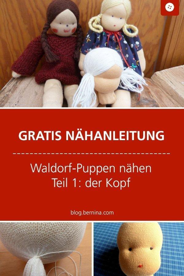 Kostenlose Nähanleitung für eine Waldorf-Puppe Schritt für Schritt erklärt