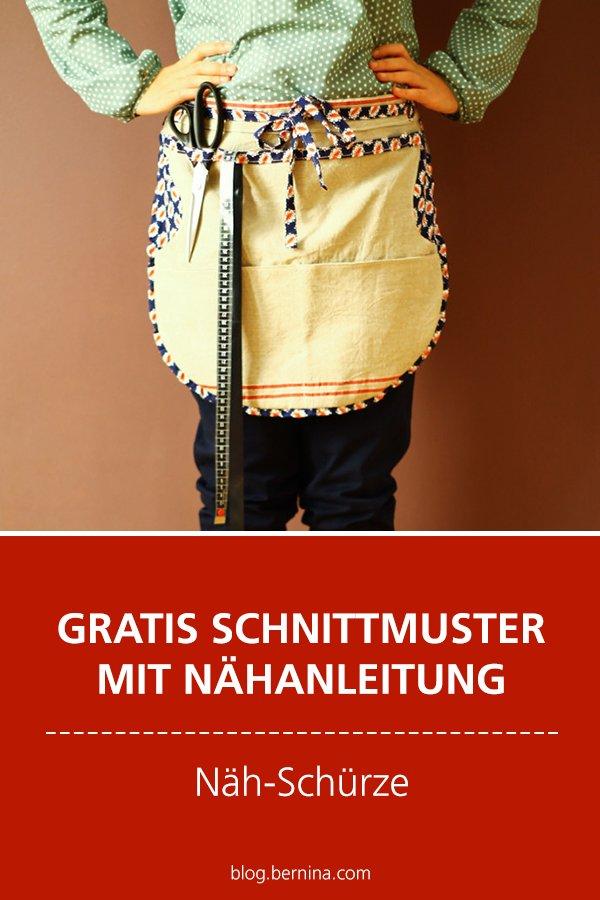 Gratis-Schnittmuster & Nähanleitung: Näh-Schürze