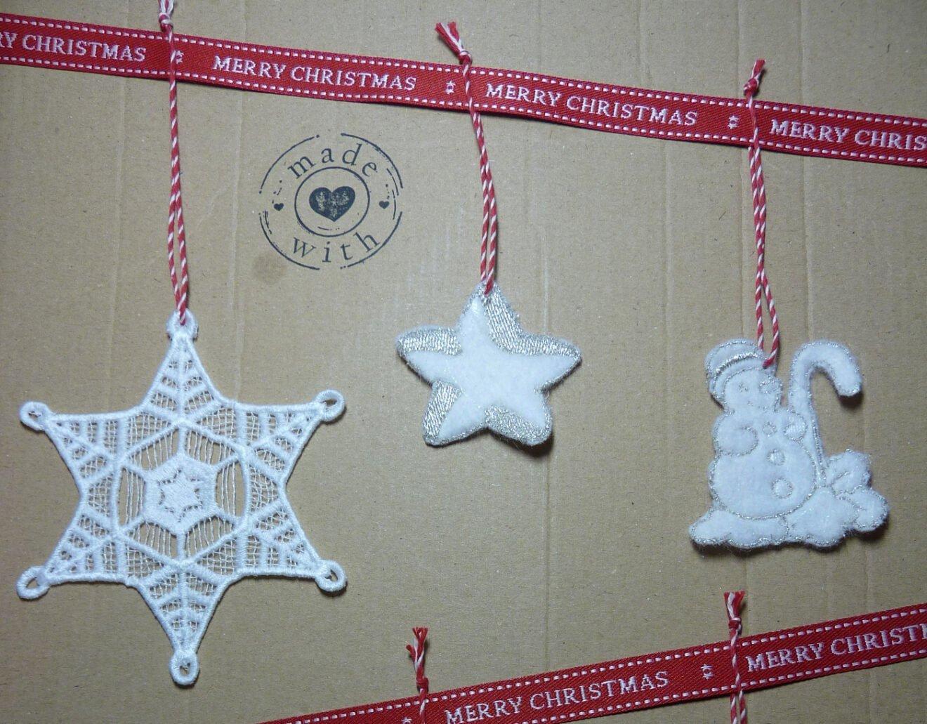 Weihnachtsbaum- oder Geschenkanhänger