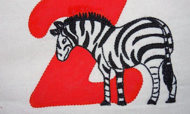 Z - Zebra gross