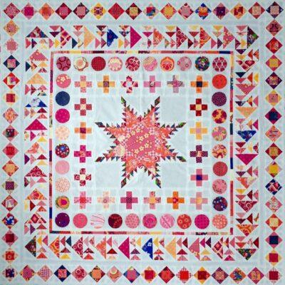 BERNINA Medaillon QAL - Square in a Square (1)