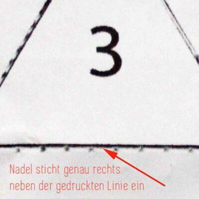 Bernina Triangle Quilt Along Block 8
