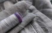 Silk-Finish Cotton von Mettler für Knopfloch