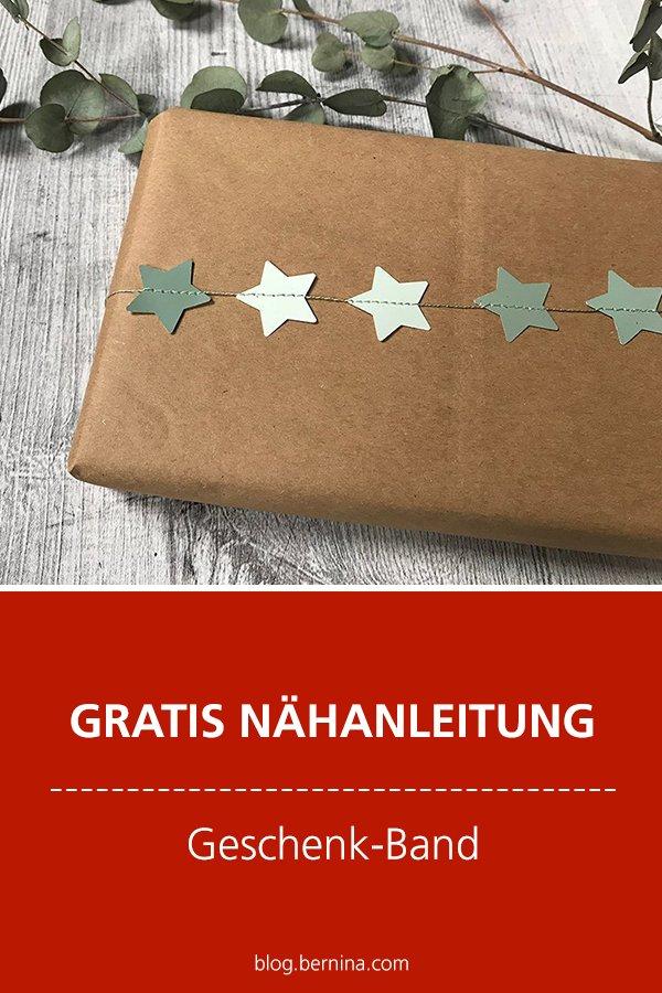 Kostenlose Nähanleitung: Geschenkband