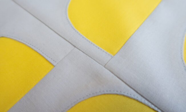 Sugaridoo Bernina QAL Sneak Peek Yellow