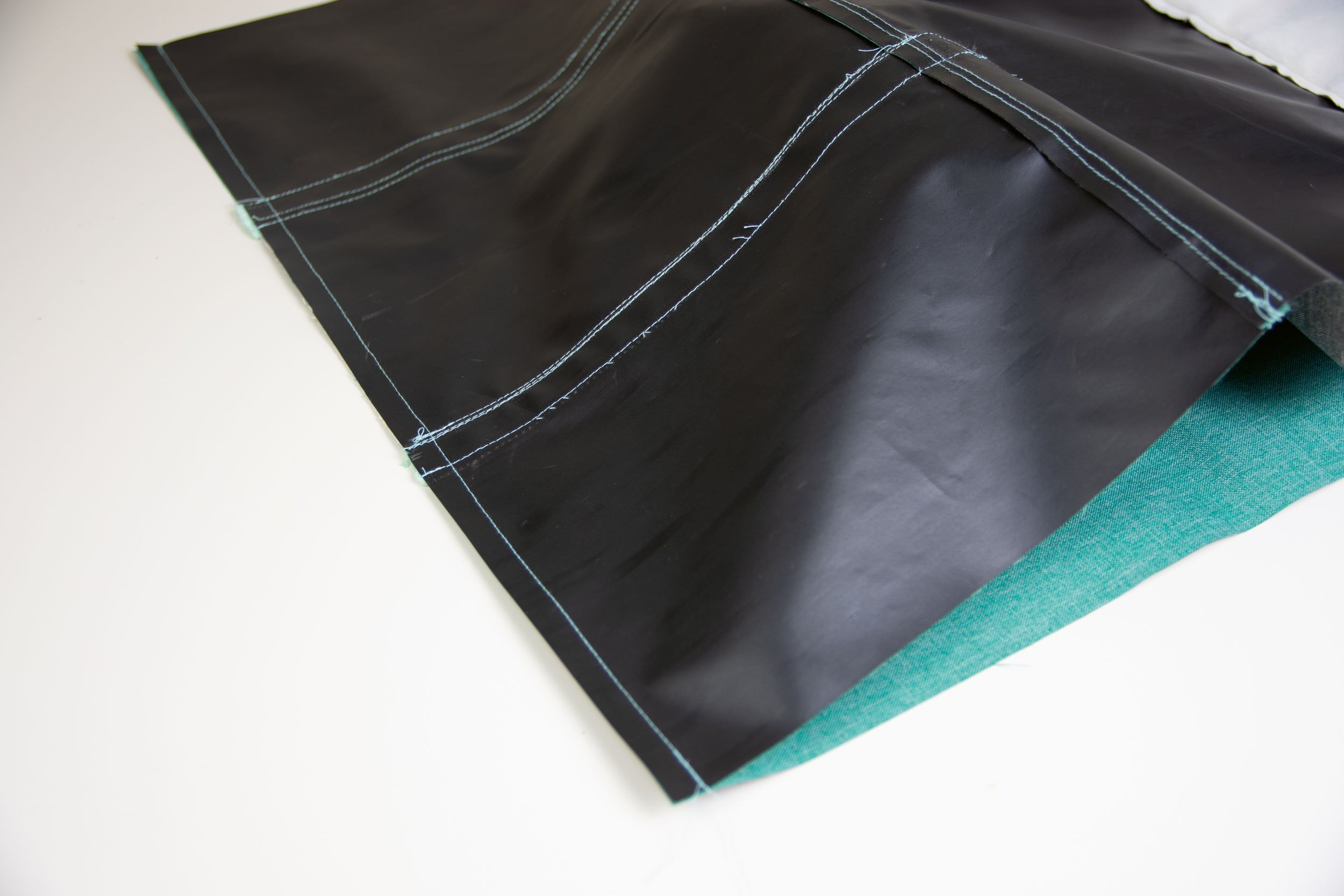 Reisetasche nähen: Taschenboden nähen