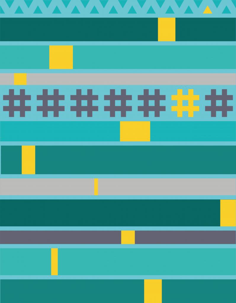 Sugaridoo Quilt-Along: Farbschema für den blauen Quilt