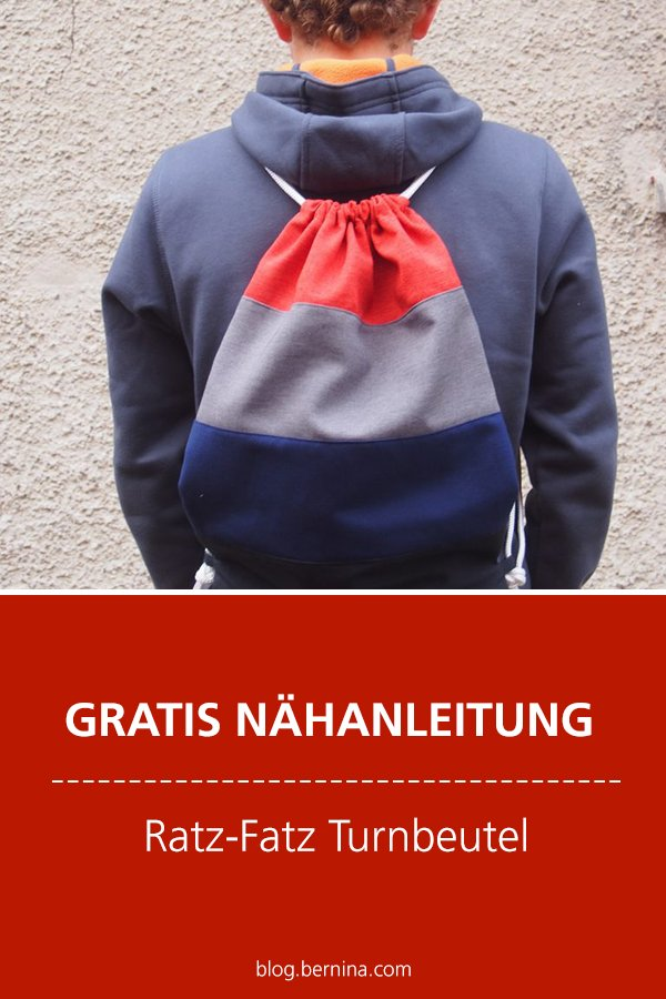 Kostenlose Nähanleitung: Ratz-Fatz Turnbeutel
