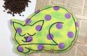 Upcycling-Nähprojekt: Wärmekissen für Babys aus Stoffresten nähen (mit Gratis Schnittmuster)