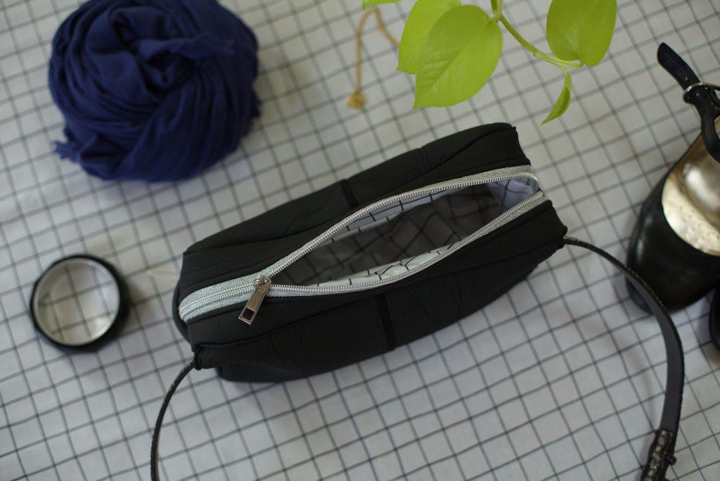 Scuba-Stoff nähen: Tasche aus einem alten Taucheranzug