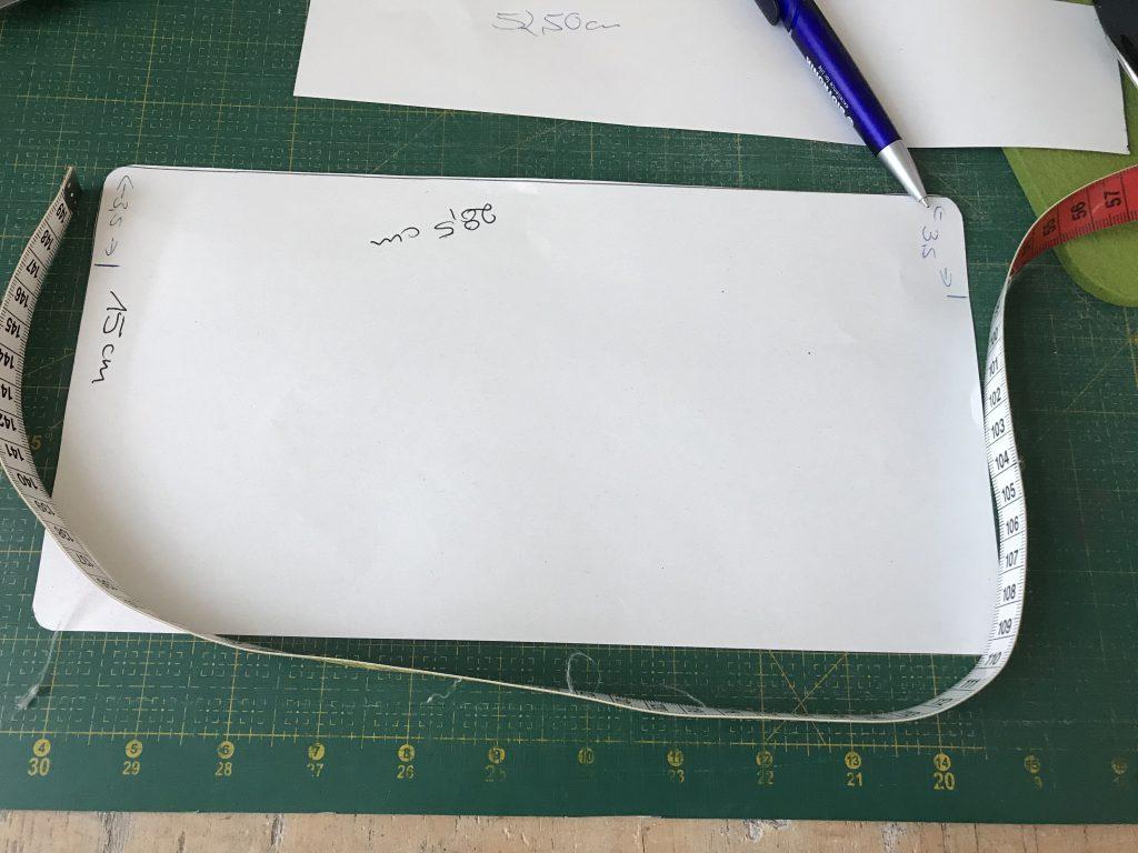Scuba-Stoff nähen: Schnittmuster für die Tasche