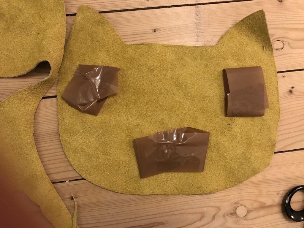 Anleitung zum Nähen mit Leder: Tasche aus Lederreste