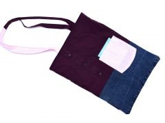 Upcycling-Tutorial 5 – Aus Hemd wird Einkaufsbeutel