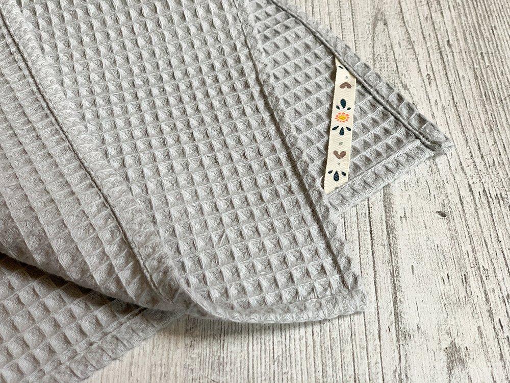 Handtuch mit Aufhängung Ansicht im Detail