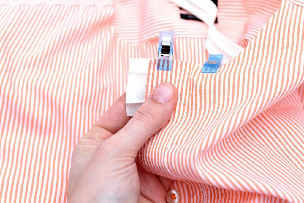 Upcycling-Tutorial 7 – Aus Hemd wird Bluse mit Langarm