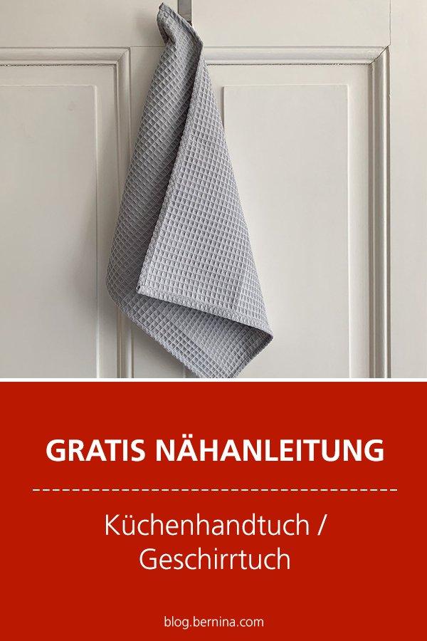 Kostenlose Nähanleitung: Geschirrtuch / Küchen-Handtuch