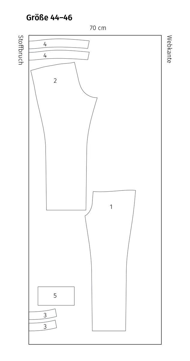 Hose einfach schnittmuster Culotte Hosen