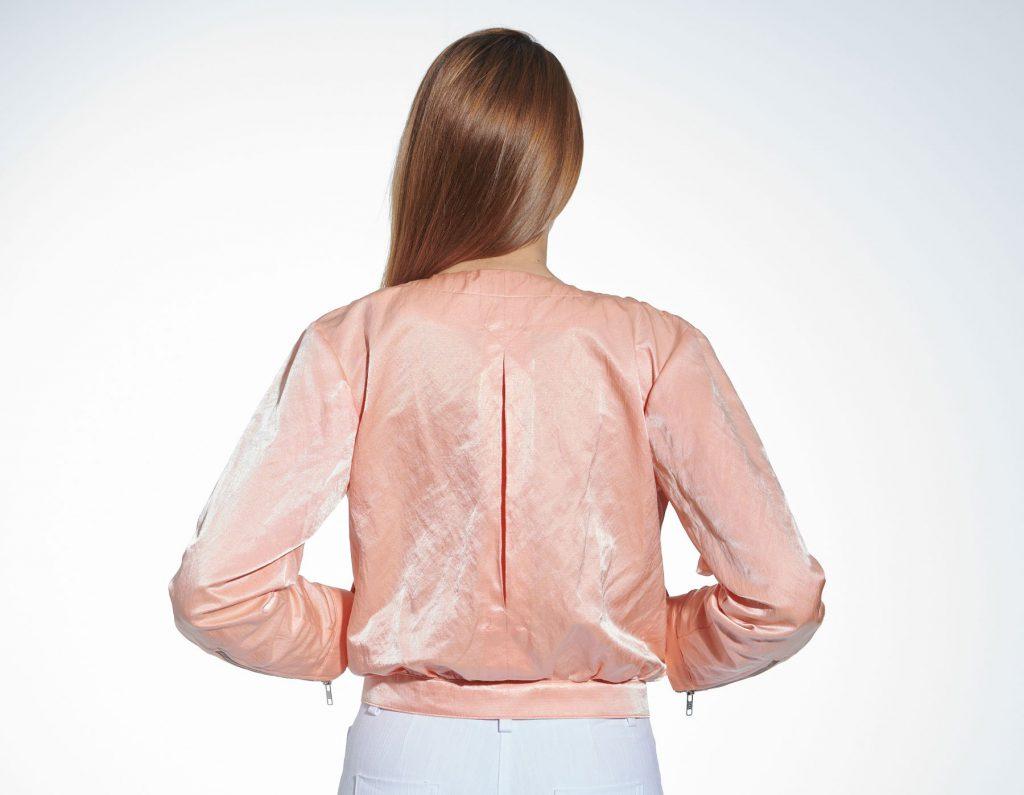 Sportive Blouson-Jacke, Rückenansicht