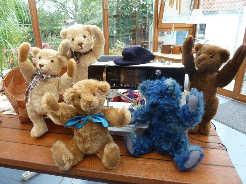 Alle Beiträge zum Thema Teddy nähen