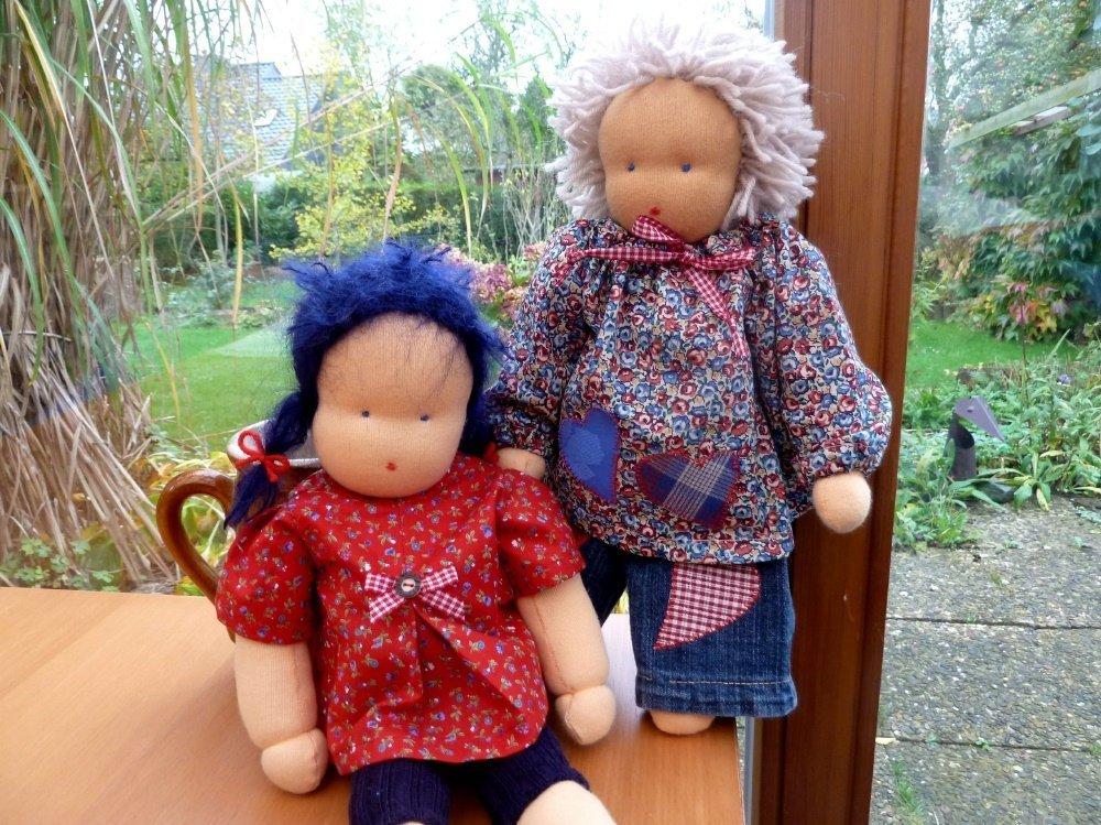 Alle Beiträge zum Thema Puppe nach Waldorfart nähen