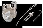 Naald-punch-accessoireset voor RL-grijpers