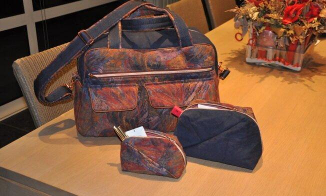 Weekend-bag Stella, Geo-bag 004